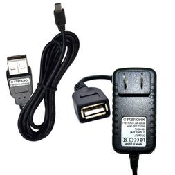 7FT WALL charger AC adapter USB cable FOR BCD436HP Uniden Be