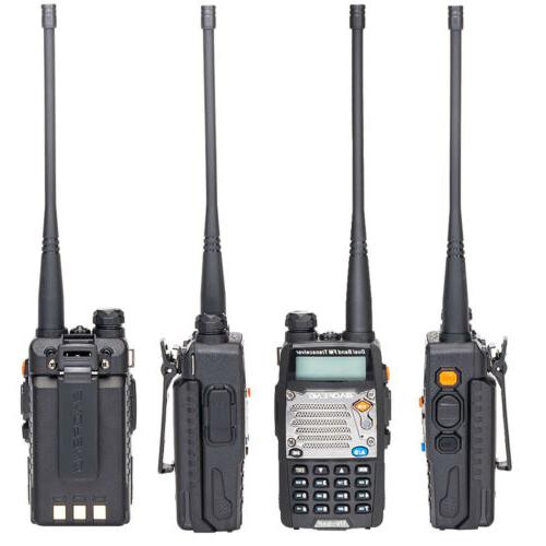 Walkie Talkie Police Radio Two Way Scanner Transceiver