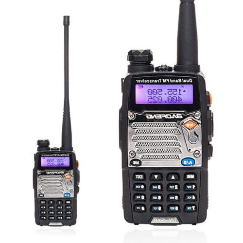Walkie Police Fire Radio Two Way Scanner Transceiver