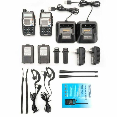 2x Walkie Talkie Police Fire Radio Two Way Transceiver