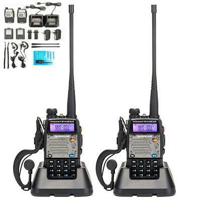 2x uv 5xp 8w walkie talkie police