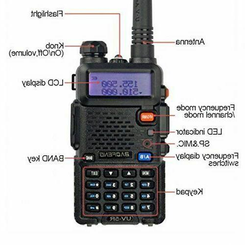 BAOFENG Two Way Handheld Police Transceiver