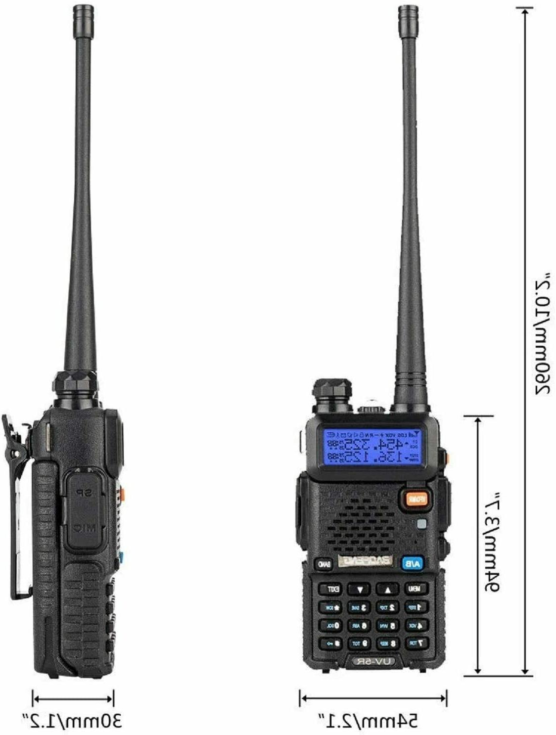 Two Way Transceiver Handheld Fire Portable F-Antenna HAM US