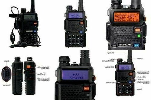 Transceiver Police Portable Ham Fire Way US