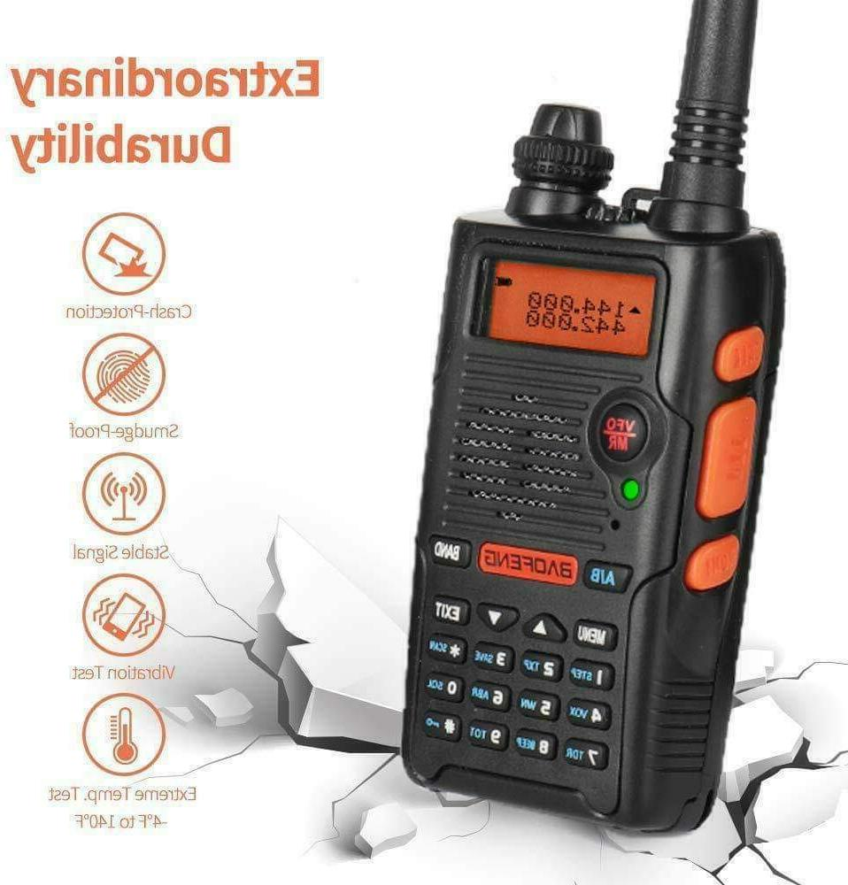 Handheld Fire Transceiver Portable EMS Two