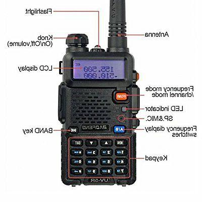 Handheld Fire Transceiver Portable Antenna EMS