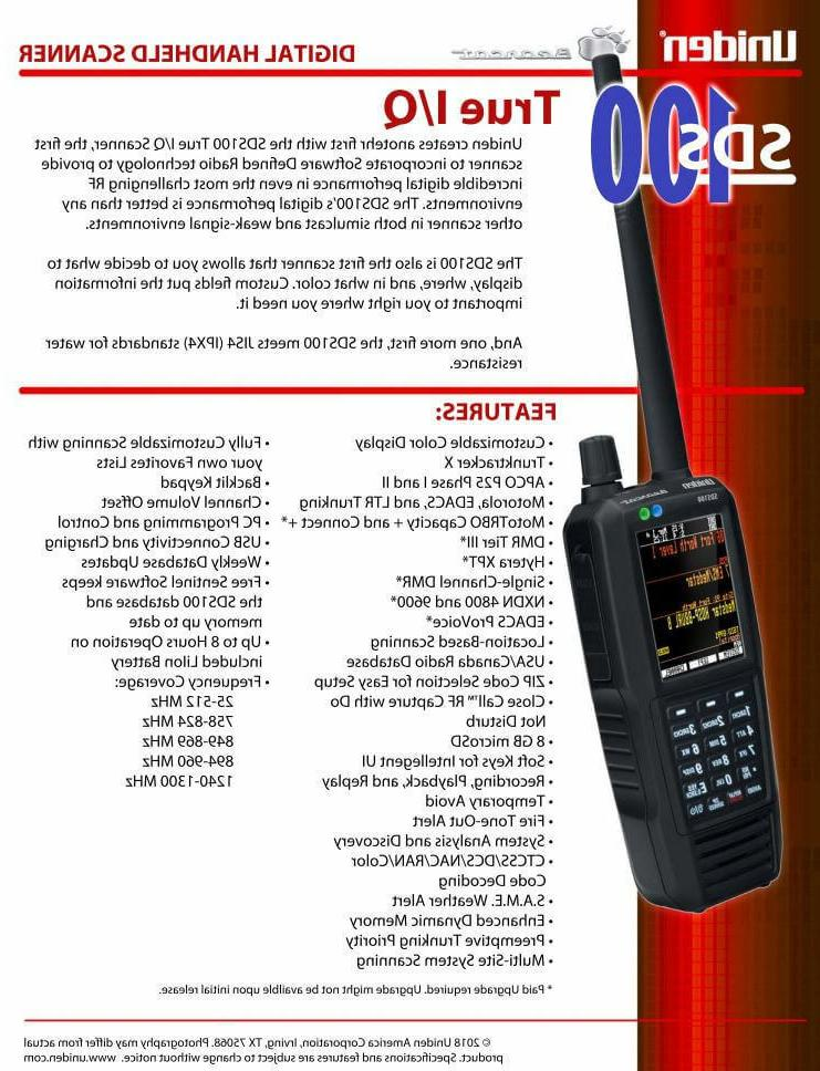 OEM SDS100 w/HD BATTERY POLICE DMR NXDN