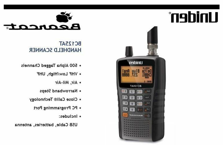 Uniden Mobile BC125AT