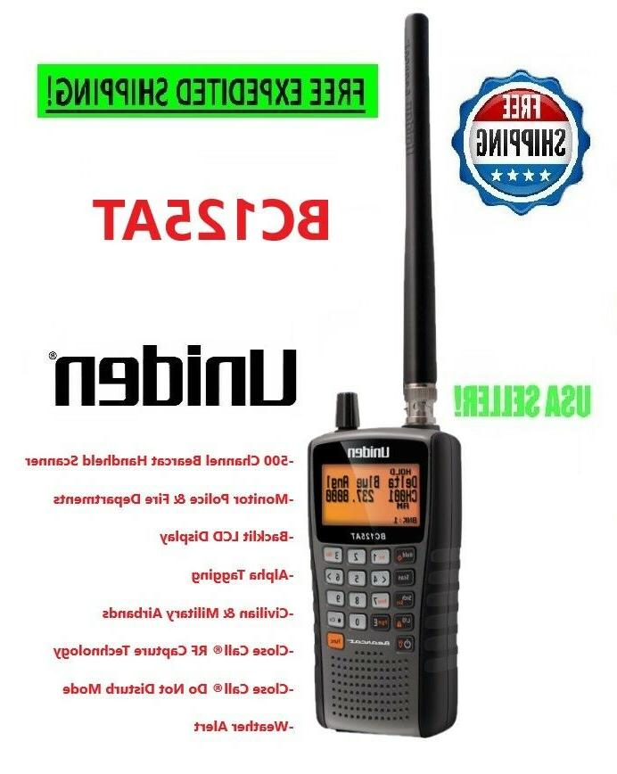 police scanner handheld mobile bc125at weather fire