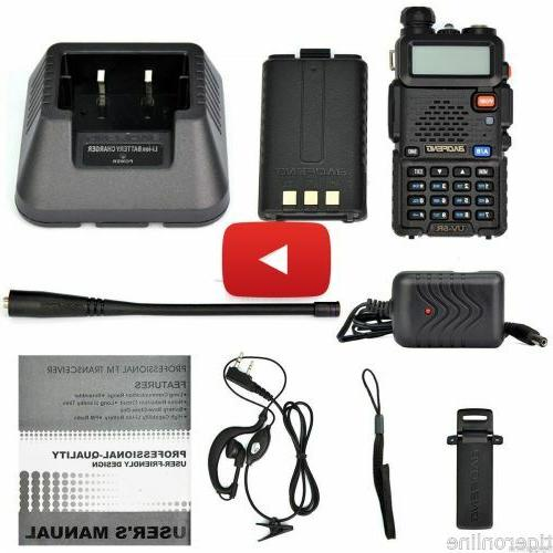 Portable Handheld Police Fire FM EMS HAM Way