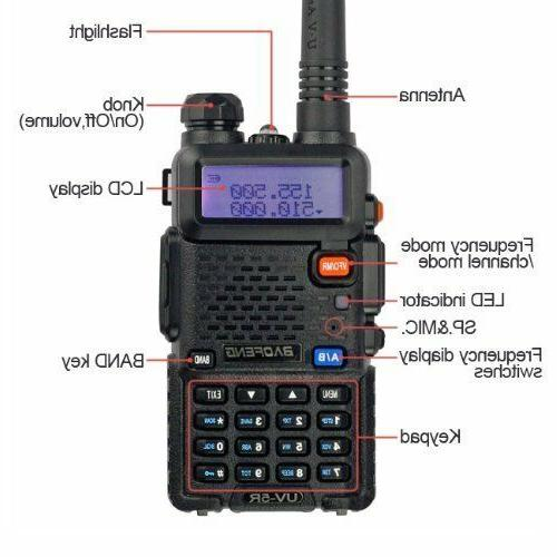 Portable Handheld Police FM EMS Way