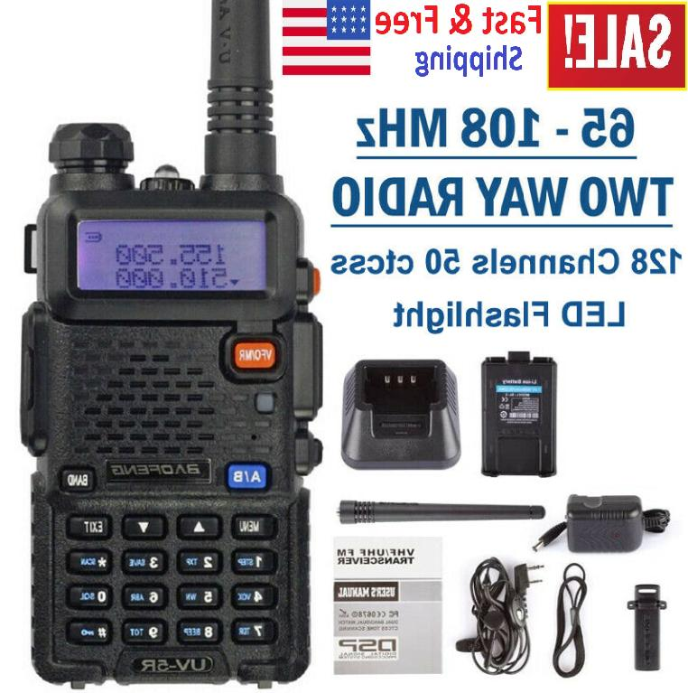 portable transceiver radio scanner handheld police fire