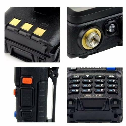 Retevis VHF/UHF 1400MAh 2-Way Police Fire Scanner