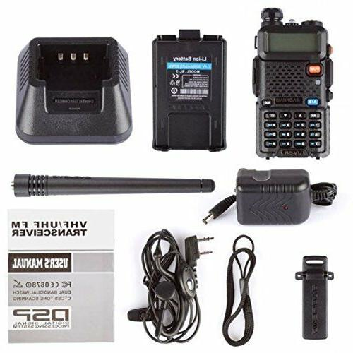 Two Way Transceiver Handheld Police Fire Portable HAM US