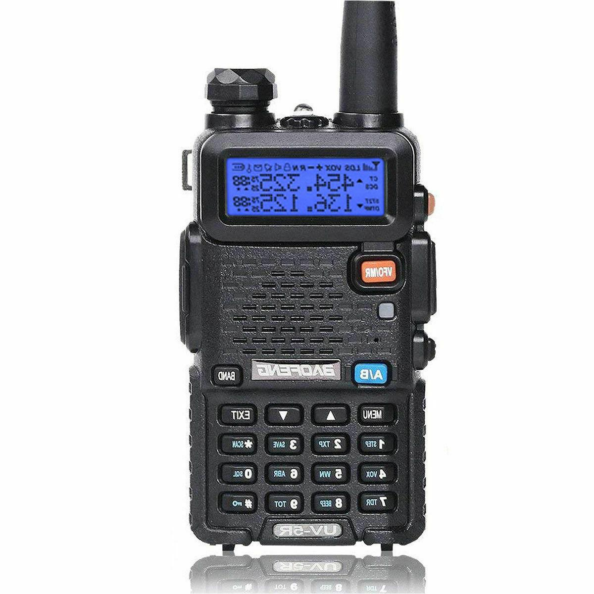 Baofeng UV-5R Handheld Walikie Talkie Scanner way Transceiver Police Antenna
