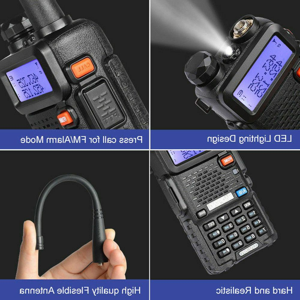 Baofeng Walikie Talkie Two Transceiver Police