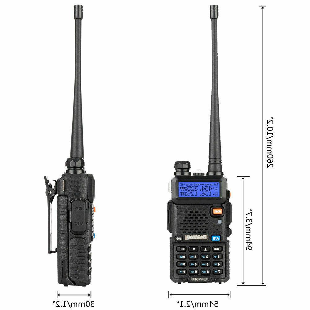 Baofeng UV-5R Talkie Scanner way Transceiver Police Antenna