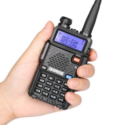 Baofeng UV-5R Handheld Walikie Talkie Scanner Two way Transceiver Police