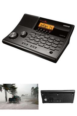 Police, Fire/EMS Scanner and FM Radio with Emergency Weather