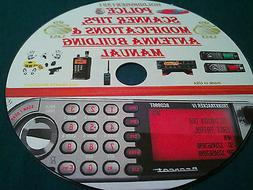 POLICE SCANNER TIPS, MODIFICATIONS & ANTENNA BUILDING MANUAL