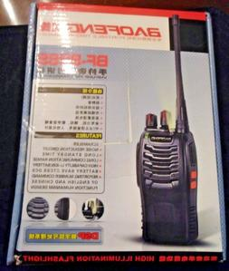 Baofeng UV-6R Handheld Scanner Portable Police Fire Two Way